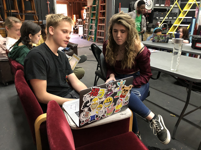 film high school program students